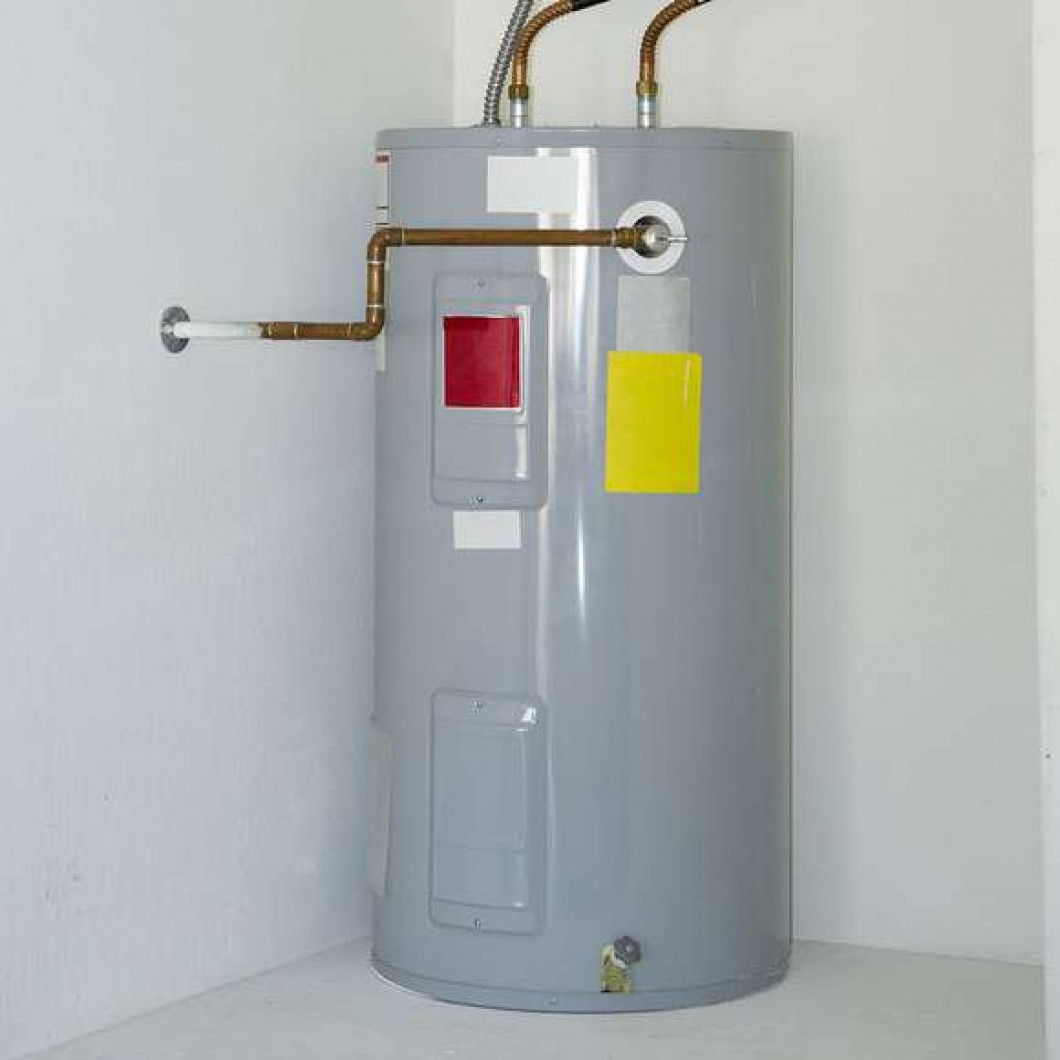 Water Heaters We install.